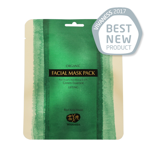 [WHAMISA] Green Essence Organic FACIAL Mask PACK