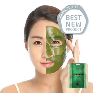 [WHAMISA]Green Essence Organic FACIAL Mask PACK
